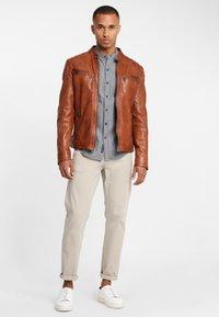 Gipsy - ARNY STUV - Leather jacket - cognac - 1