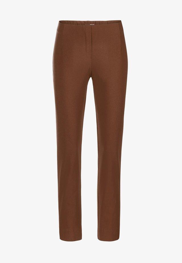 INA-748 14064 STRETCHHOSE WINTERWARM - Trousers - braun