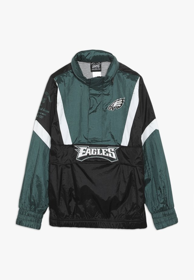 NFL PHILADELPHIA EAGLES  - Tuulitakki - sport teal/black