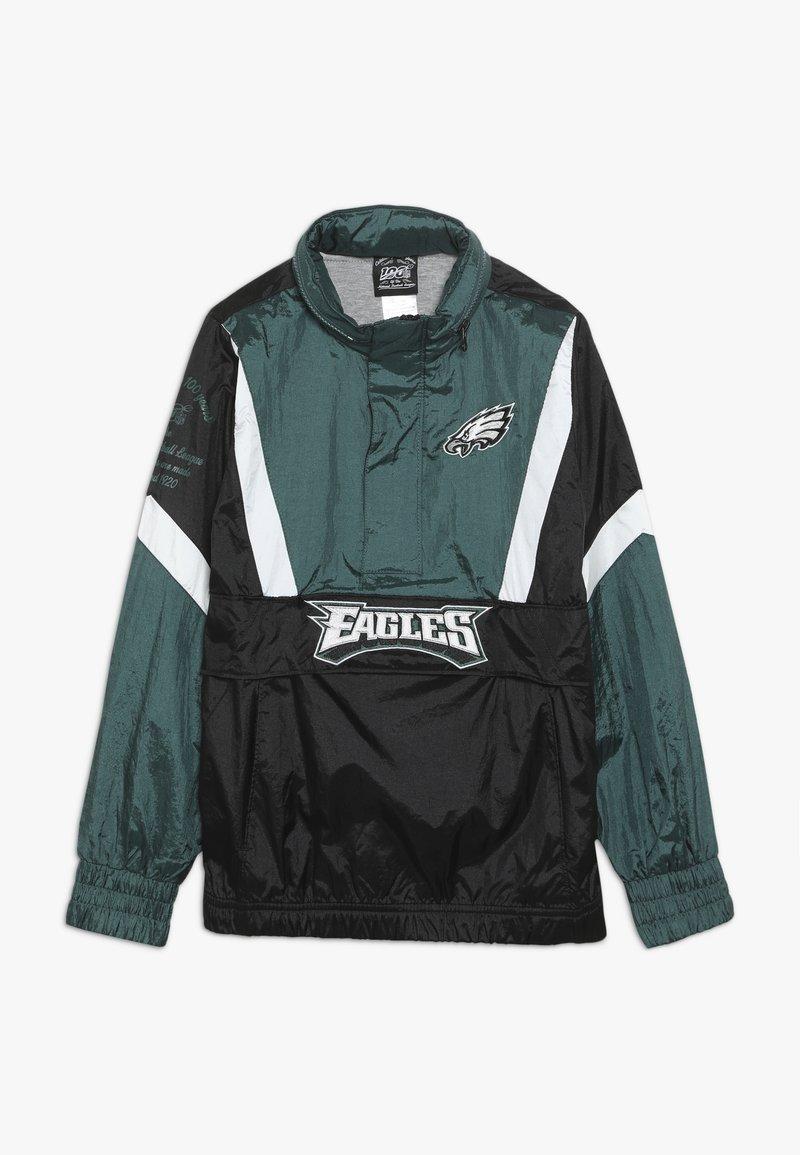 Outerstuff - NFL PHILADELPHIA EAGLES  - Veste coupe-vent - sport teal/black