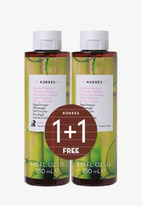 Korres - CUCUMBER BAMBOO 1+1 SHOWER GEL SET - Bath and body set - - - 0
