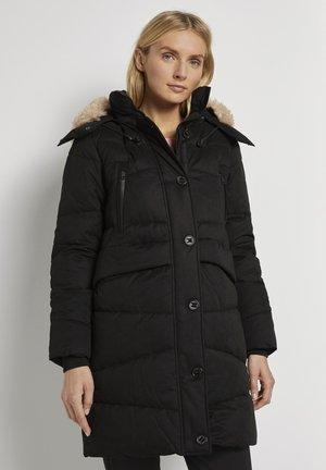 Winter coat - deep black