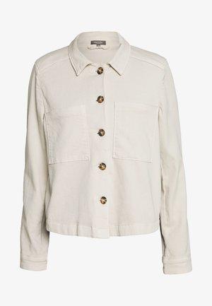 TWILL SPORTY - Giacca di jeans - soft ecru