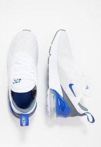 Nike Sportswear - AIR MAX 270 - Sneakers - white/hyper royal/pure platinum - 0