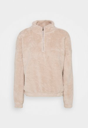 JDYTEDDY ZIP - Sweater - chateau gray