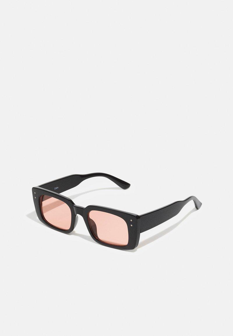 Zign - Sunglasses - black/red