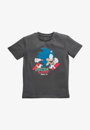 SONIC T-SHIRT  - Print T-shirt - grey