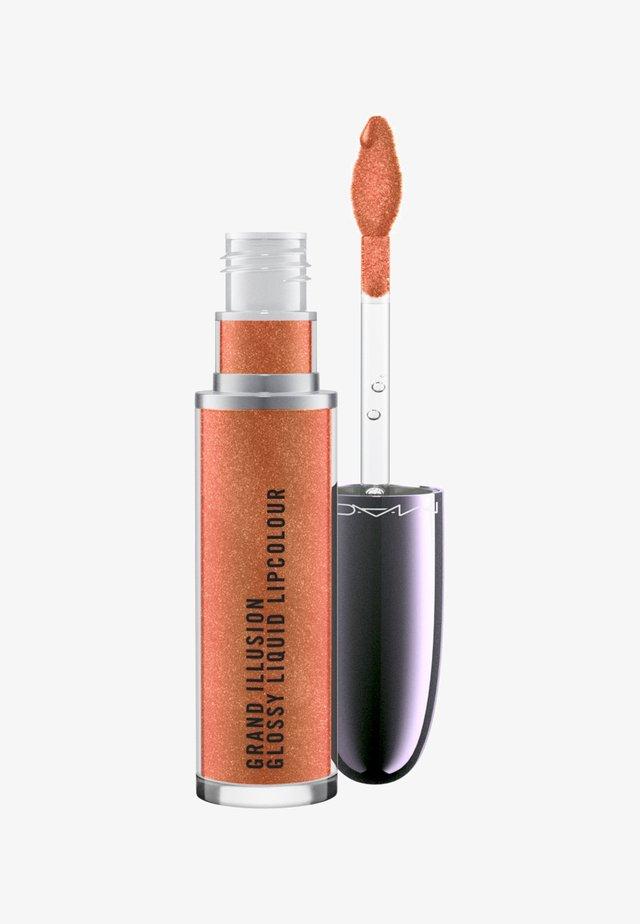 GRAND ILLUSION LIQUID LIPCOLOUR - Liquid lipstick - autumn russet