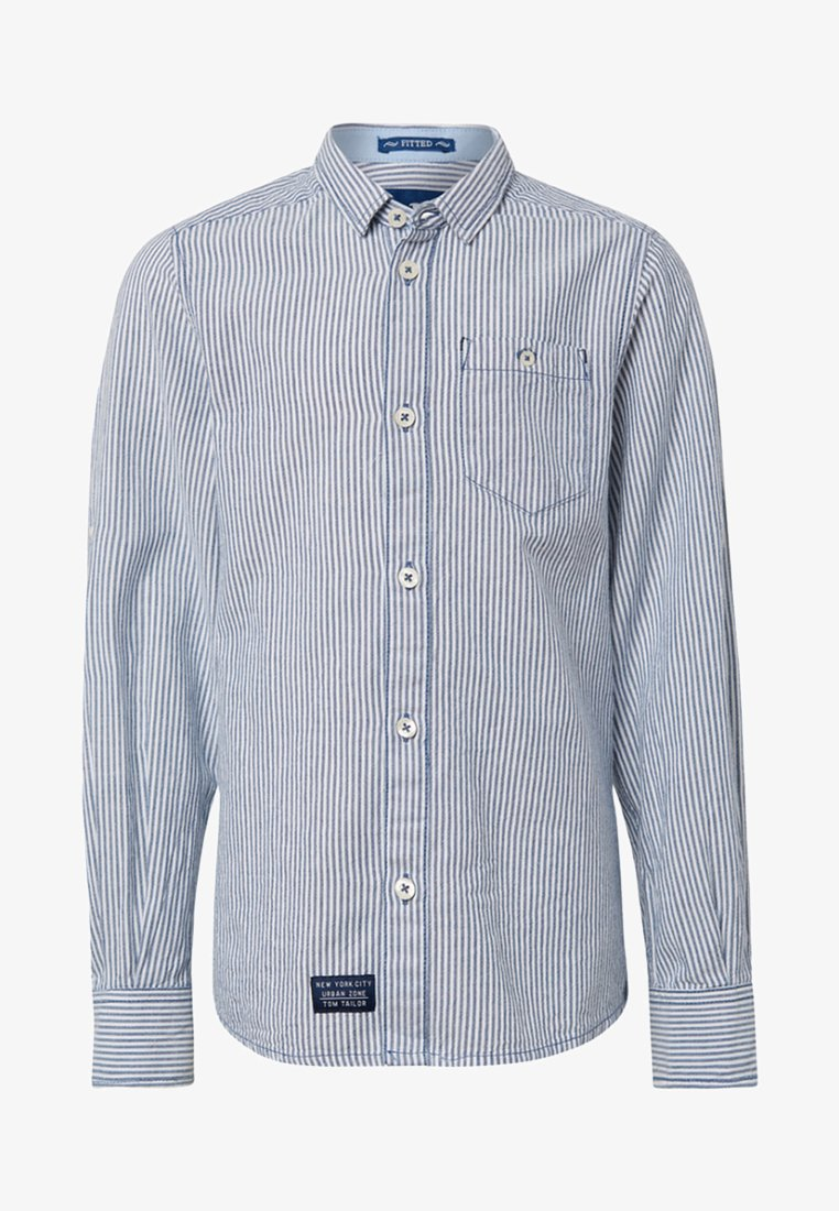 TOM TAILOR - Shirt - blue