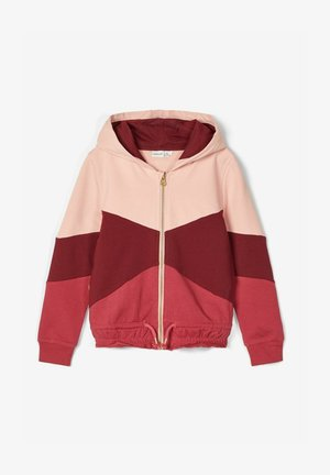 Zip-up hoodie - mellow rose