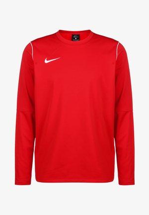 PARK 20 DRY CREW HERREN - Long sleeved top - university red / white