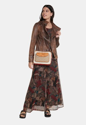 BOLS_TRIPATCH CAMBRIDGE MINI - Across body bag - brown