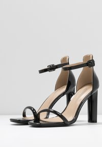 BEBO - CLAIRE - Højhælede sandaletter / Højhælede sandaler - black - 4