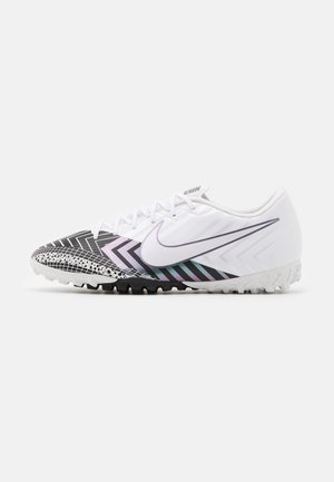 MERCURIAL VAPOR 13 ACADEMY TF - Astro turf trainers - white/black