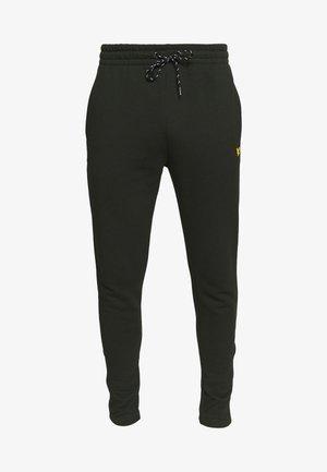 CORE ZIP TRACK PANTS - Pantalon de survêtement - deep spruce marl