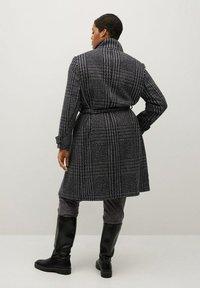 Violeta by Mango - MINIMAL - Classic coat - schwarz - 2