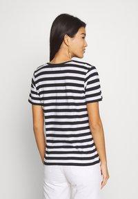 Anna Field - 2 PACK - T-shirt print - white - 2