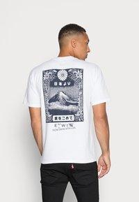 Edwin - FROM FUJI  - Print T-shirt - white - 2