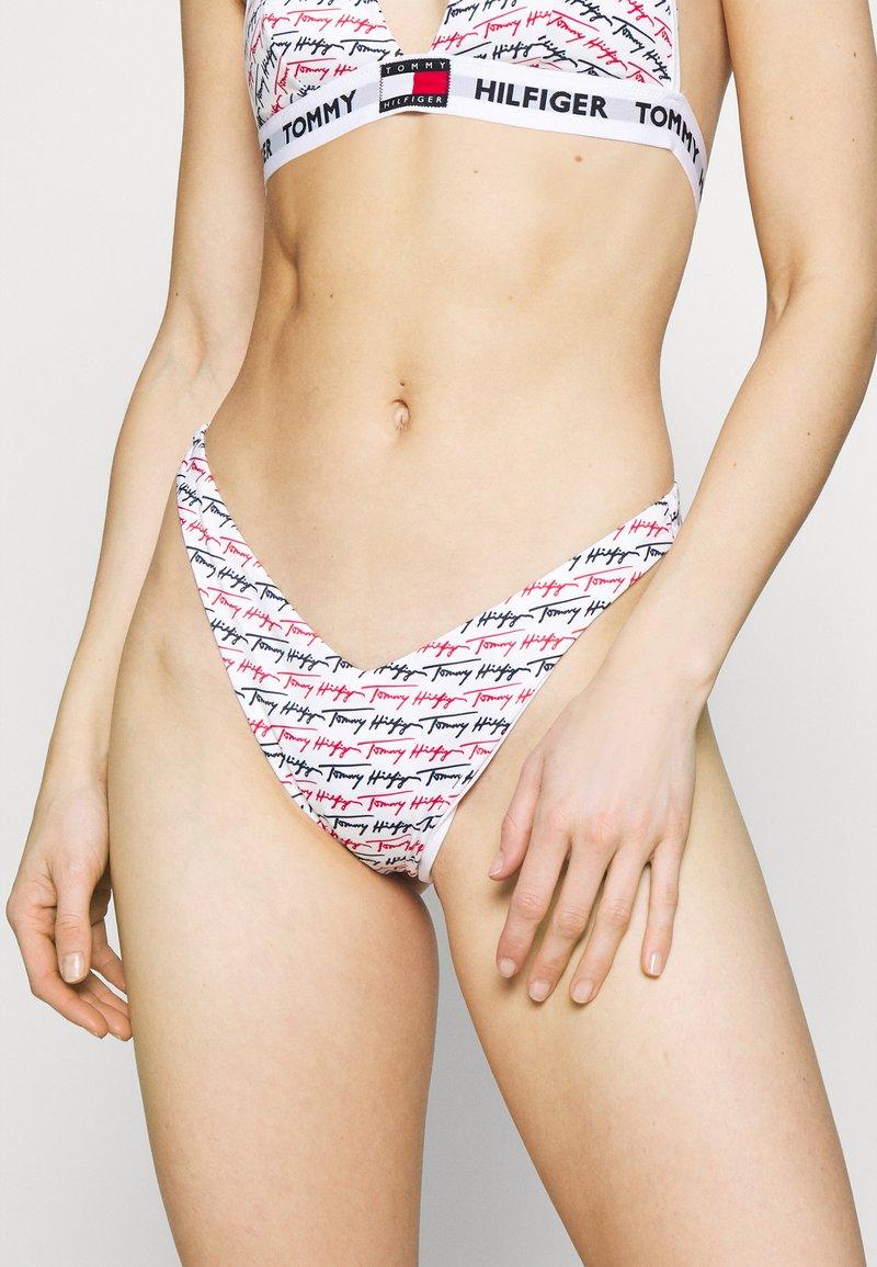 Tommy Hilfiger - PRIDE CHEEKY HIGH LEG - Bikini bottoms - multi-coloured