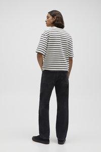 PULL&BEAR - Jeans straight leg - mottled dark grey - 2