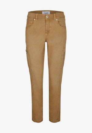 ORNELLA - Cargo trousers - hellbraun