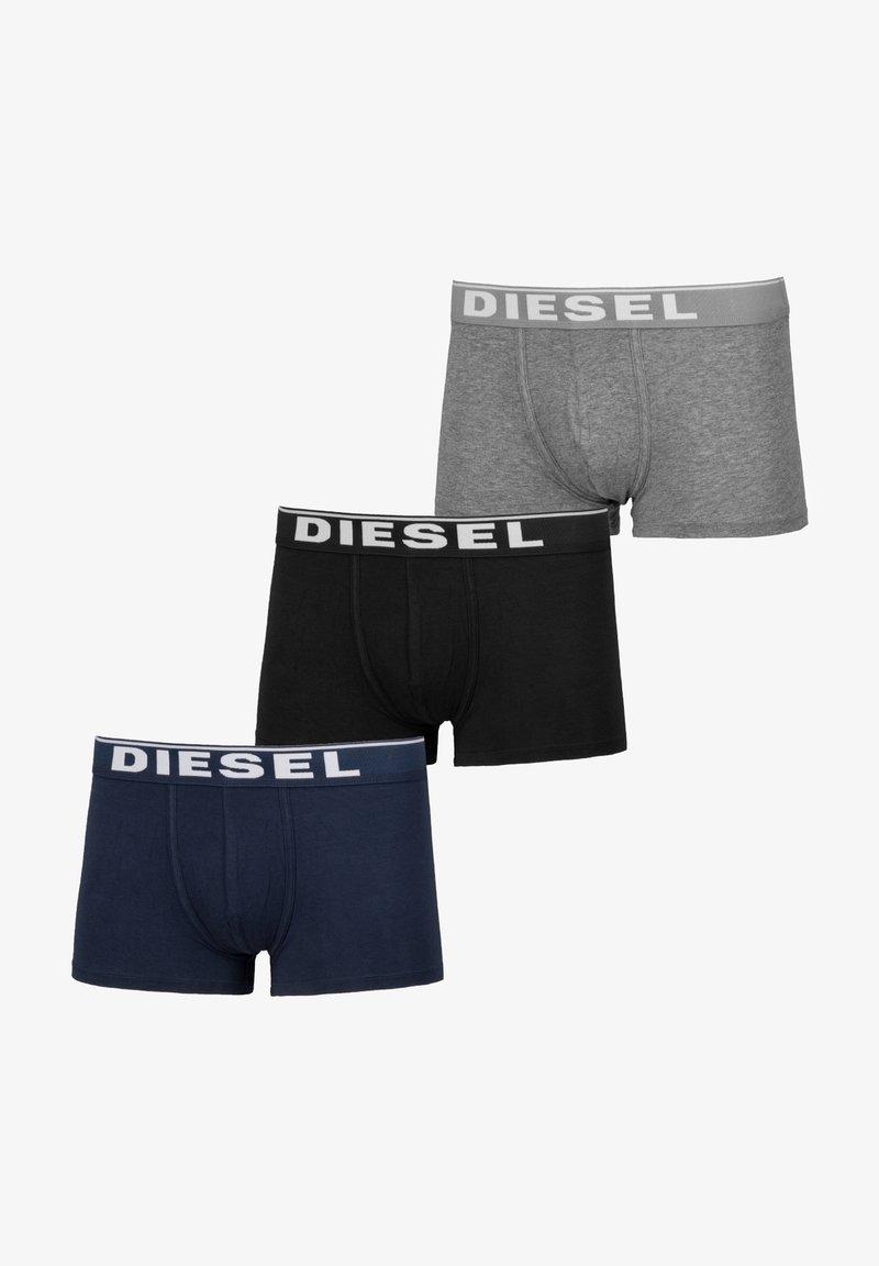 Diesel - UMBX-DAMIENTHREEPACK BOXER 3PACK - MPACK:3 - Culotte - grau-dunkelblau-schwarz (00st3v-0jkkb-e4125)