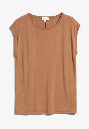 JILAA - Basic T-shirt - toasted hazel