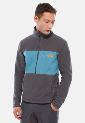 MENS BLOCKED ZIP - Sweat polaire - grey
