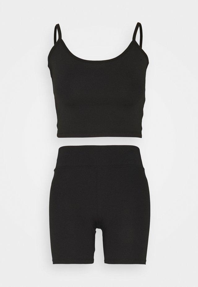 LENA SET - Top - black