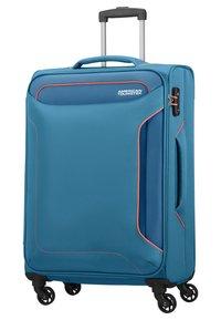American Tourister - HOLIDAY HEAT - Wheeled suitcase - denim blue - 1