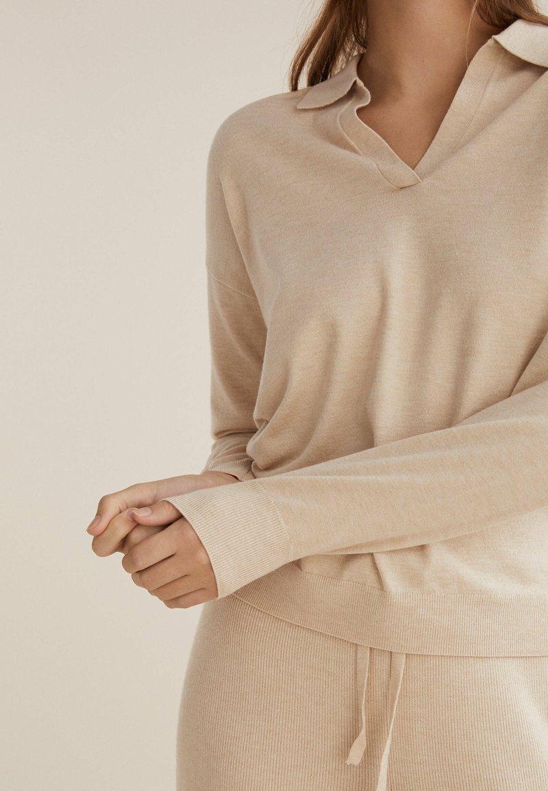 OYSHO - Jumper - beige