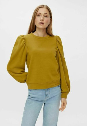 Sweatshirt - ecru olive