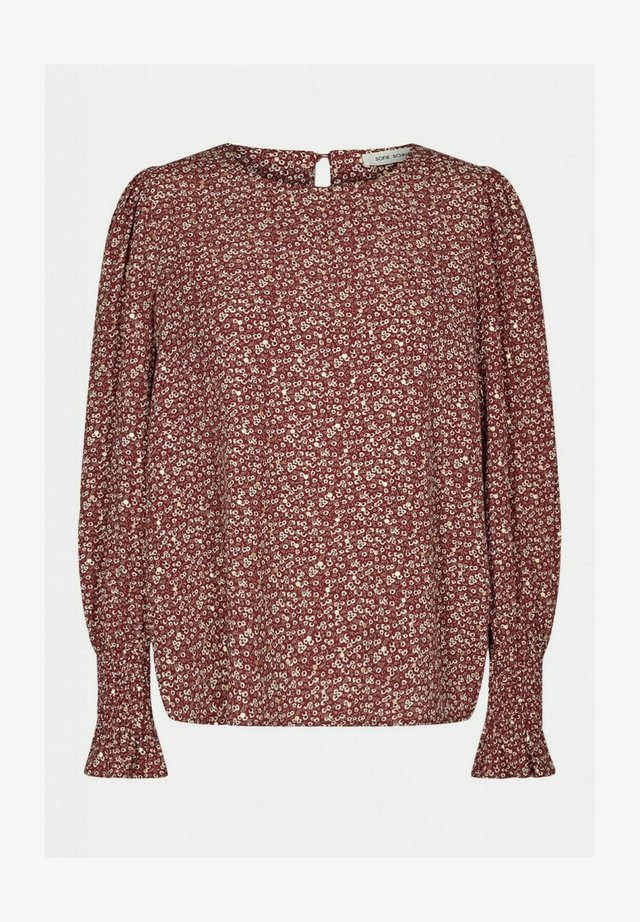 Blouse - dark red
