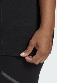 adidas Performance - ADI RUNNER TEE - Basic T-shirt - black - 4