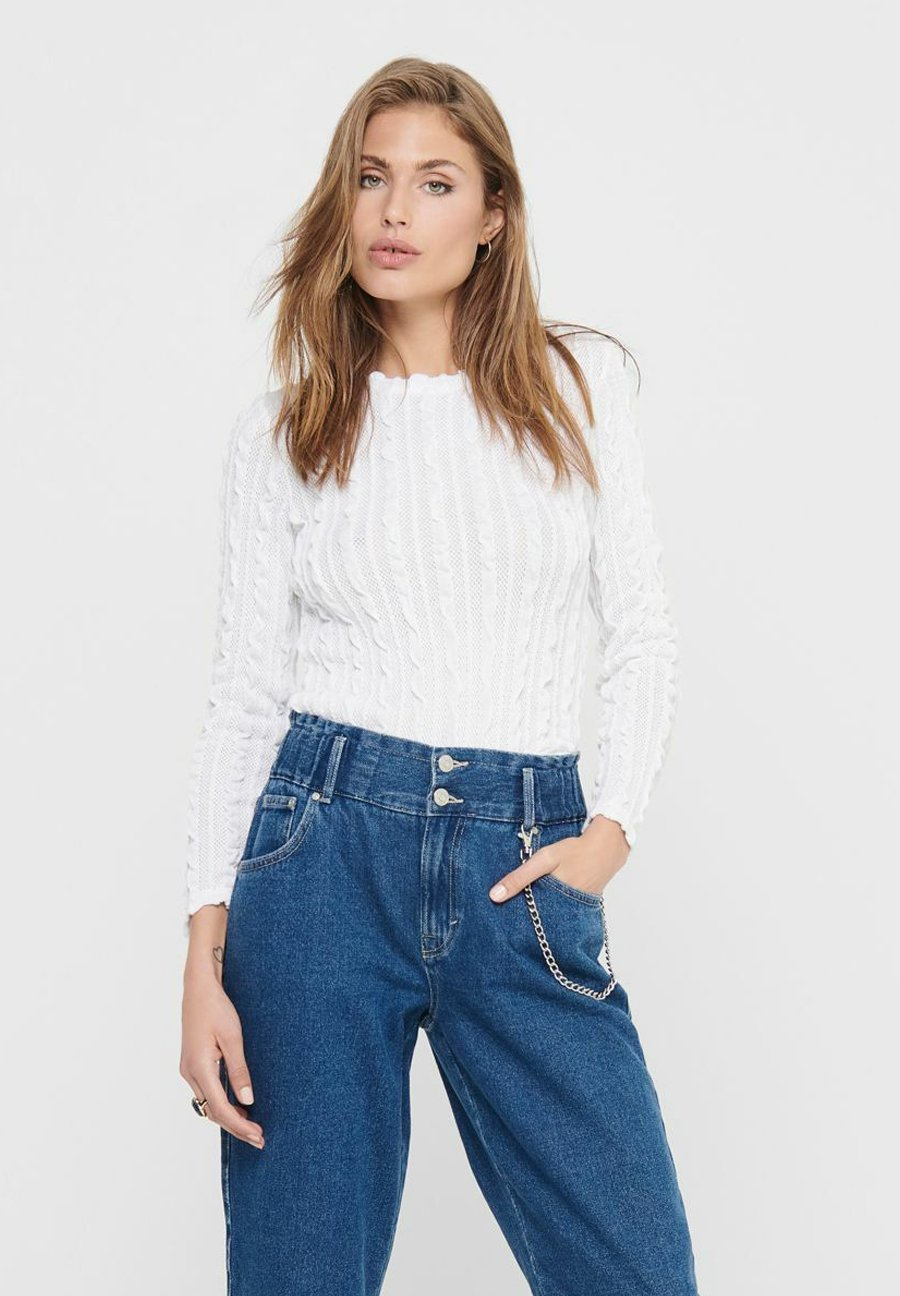 Mujer ONLKELLY CROPPED  - Jersey de punto
