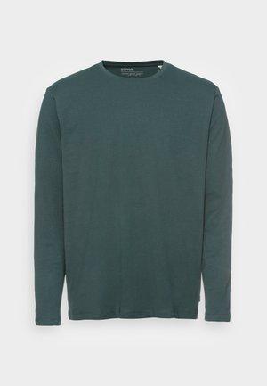 Långärmad tröja - teal blue