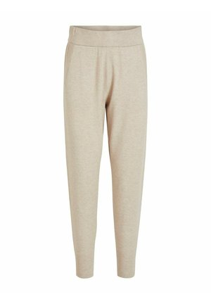 Tracksuit bottoms - natural melange
