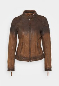 Gipsy - CASCHA LAMOV - Leather jacket - antic brown - 3