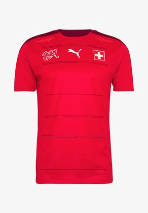 SCHWEIZ SFV HOME AUTHENTIC - National team wear - red