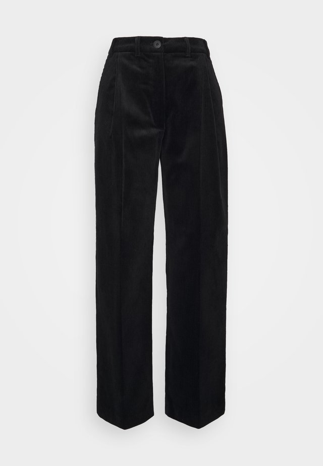 LUCAS - Kalhoty - black