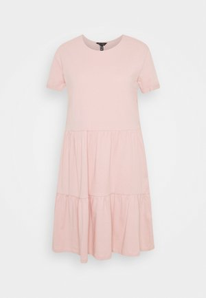 SMOCK MINI - Day dress - pale pink