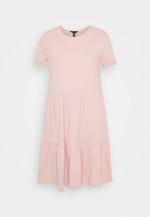 SMOCK MINI - Day dress - pale pink