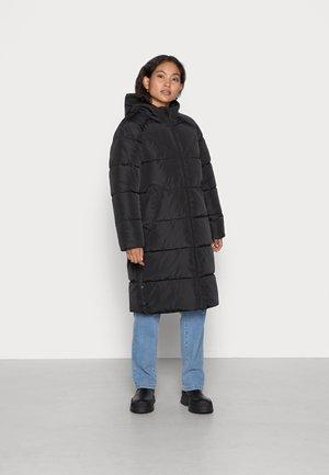 ONLAMANDA LONG PUFFER COAT - Winter coat - black