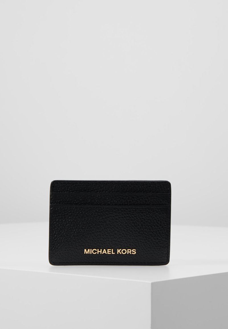 MICHAEL Michael Kors - JET SET CARD HOLDER MERCER - Wallet - black