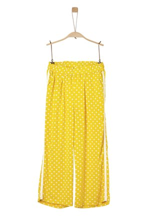 Trousers - yellow aop