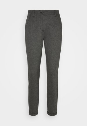 MELINA RETRO - Stoffhose - easy grey