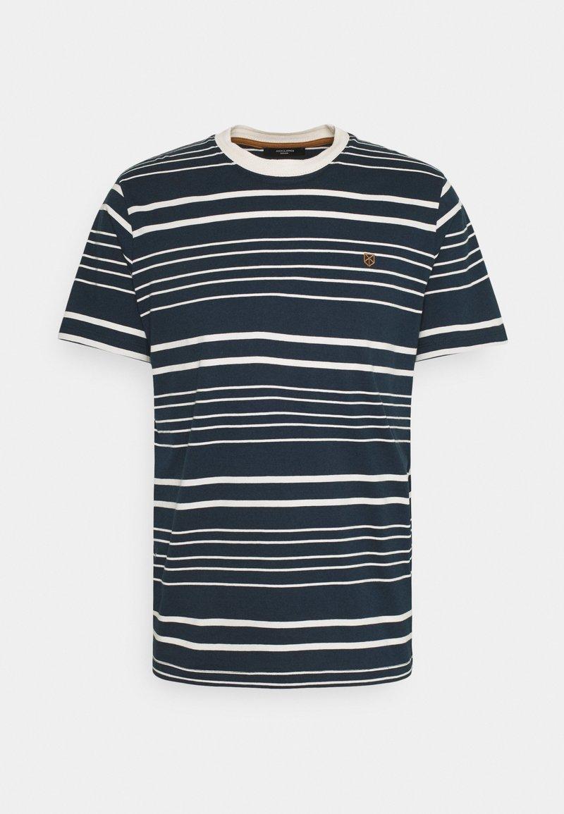 Jack & Jones PREMIUM - JPRJURI - Print T-shirt - navy blazer