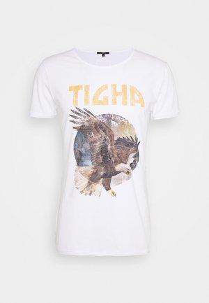 EAGLE WREN - Print T-shirt - white