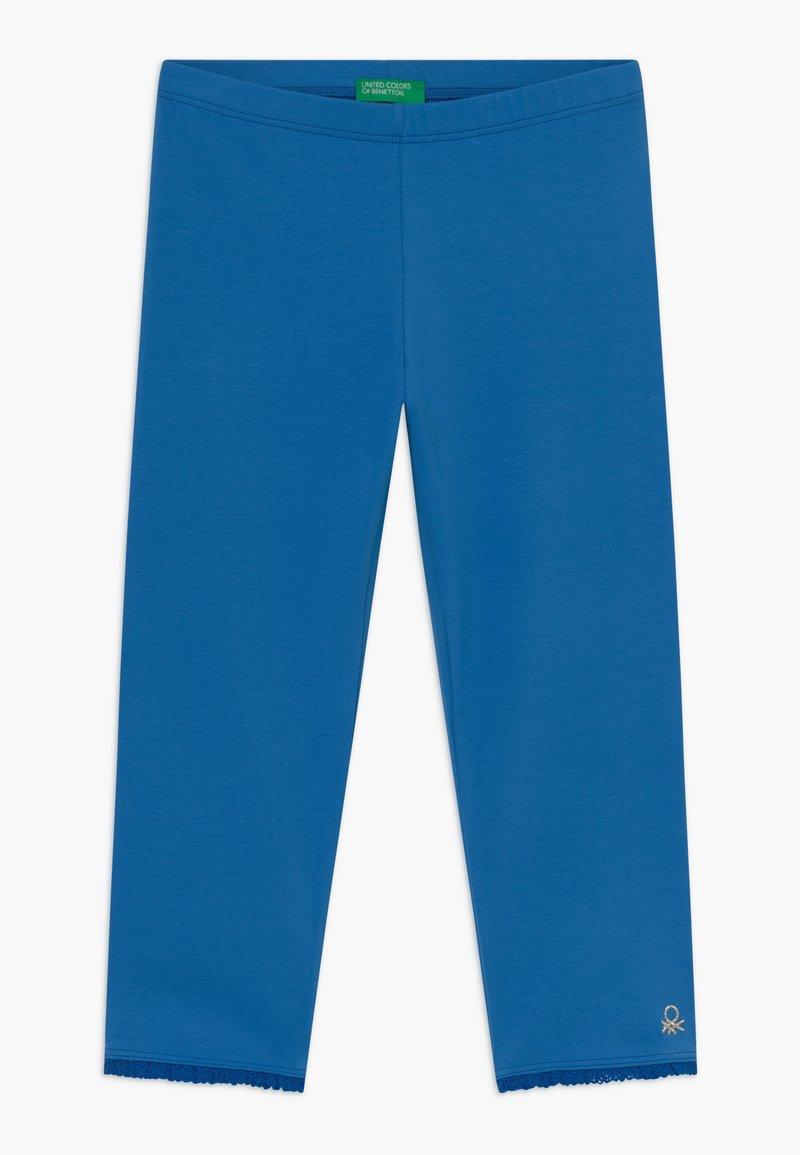 Benetton - Leggings - blue