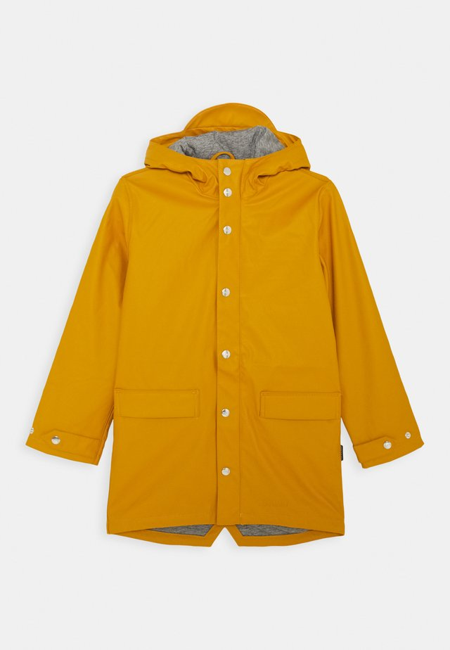 LAZY GEESE UNISEX - Waterproof jacket - inca gold